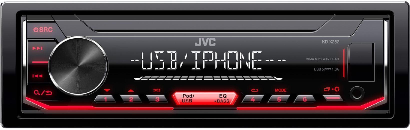 Sencor JVC KD-X252