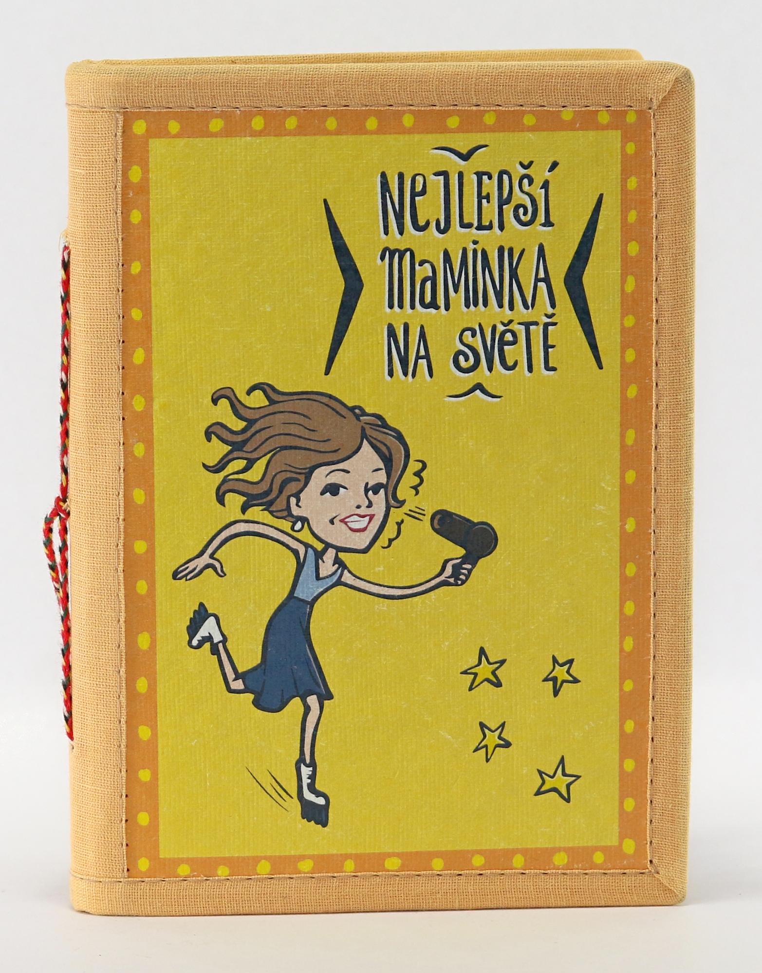 Ručně vyrobený zápisník Nejlepší maminka