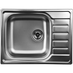 Sinks ATLAS 650 V 0,8mm leštěný