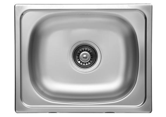 Sinks CLASSIC 500 V 0,5mm matný